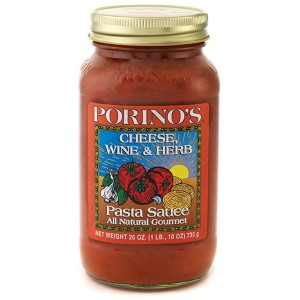 Porino's Cheese, Wine & Herb Pasta Sauce